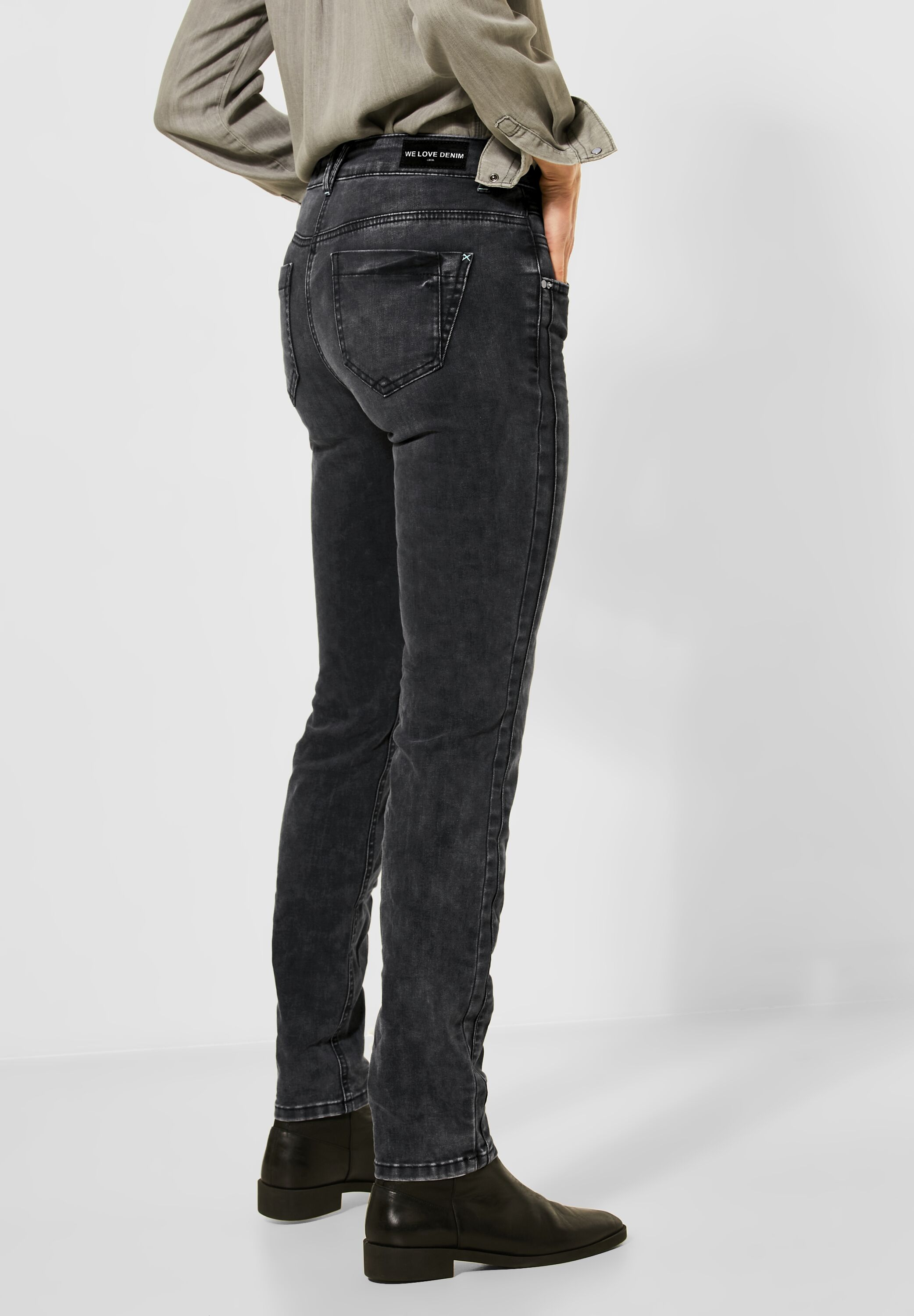 Cecil Jeans Charlize grey used