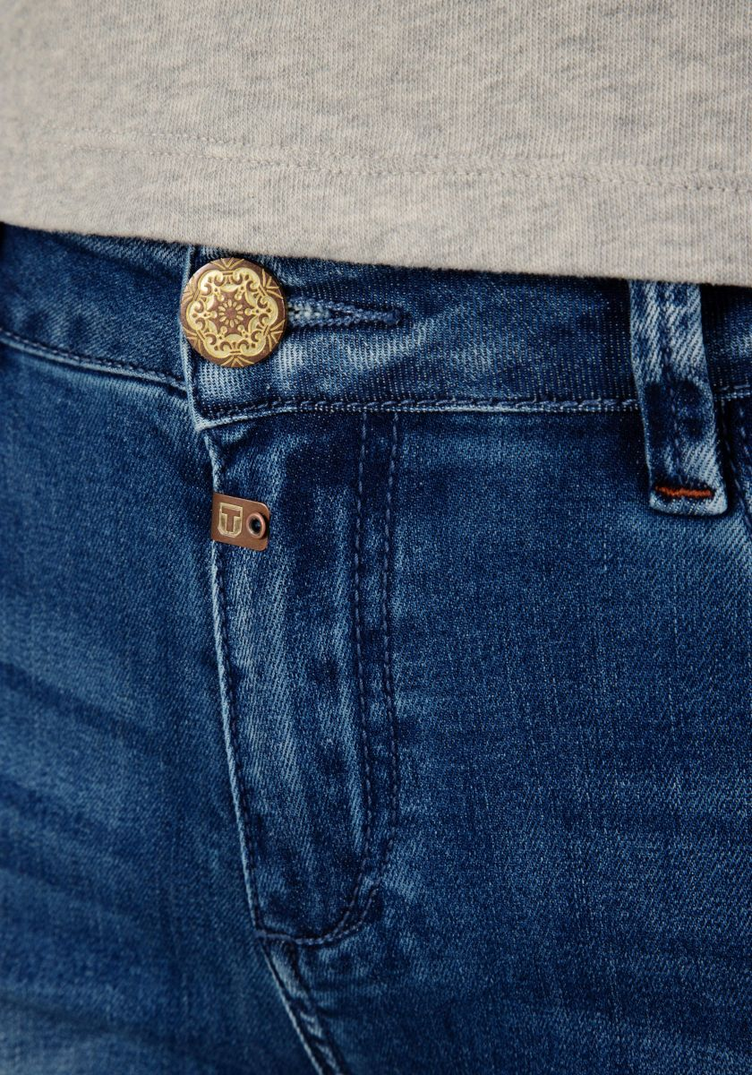 Timezone Jeans Tight Aleena blue wash